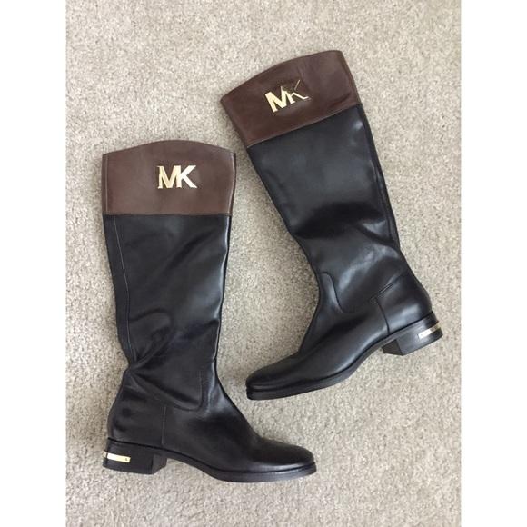 f1b5054a31ec MICHAEL KORS    NWOT Riding Boots. M 5b9c4ef045c8b34c163ff24a